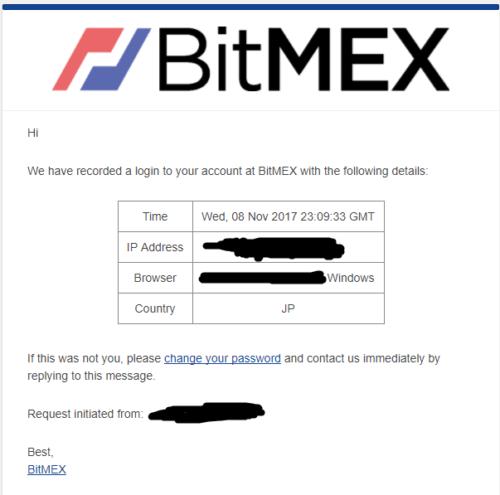 BitMEX セキュリティ