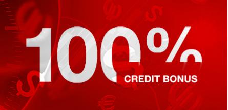 HotForex 100% クレジットボーナス