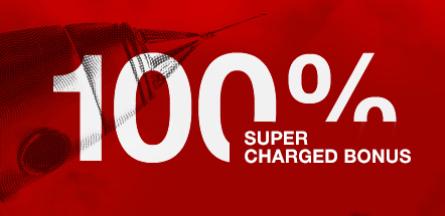 HotForex 100% スーパーチャージボーナス