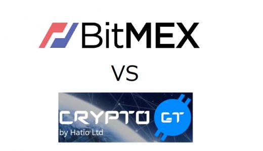 【比較】BitMEX VS CryptoGT ビットコインFXやるならどちらがオススメ?評判は?